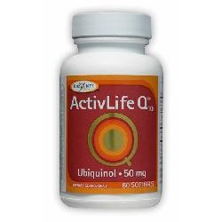 ActivLife Q10™Containing Ubiquinol60 Soft Gel capsules
