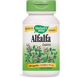 Alfalfa Leaves405mg100 capsules