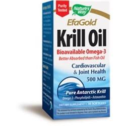 EFAGold® Krill oil500mg30 SoftGels