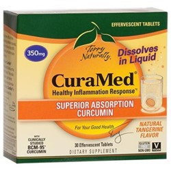 CuraMed® Effervescent Tablets (350 mg) 30 tablets