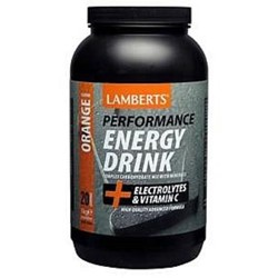 Energy Drink Refreshing Orange flavour 1000g powder
