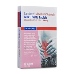 Maximum Strength Milk Thistle 300mg Tablets