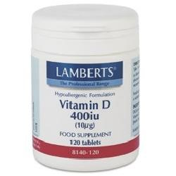 Vitamin D3 (10mcg) 400iu120 tablets