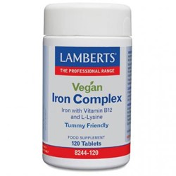 Vegan Iron  Complex 120 tablets