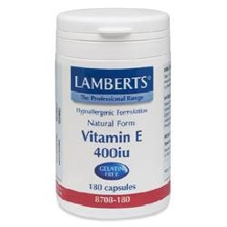 Vitamin E (Natural) 400iu60 VegicapsulesGelatin Free