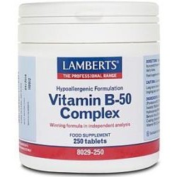 Vitamin B 50 ComplexA balanced formula of the B vitamins