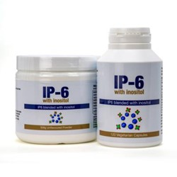 IP-6 with Inositol in Capsules (120 caps) or  IP6 with Inositol unflavoured Powder (308g)