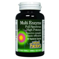 Multi Enzyme Full Spectrum High Potency60 Veg cap