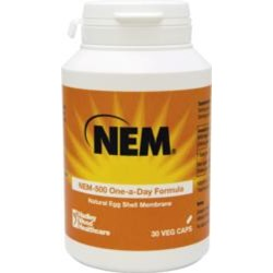 Natural Egg Shell Membrane NEM®-500 30 Veg Caps