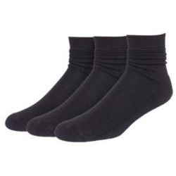 Bamboo SocksUnisex High Performance SocksBlack 3 PackUK Sizes 4-7, 8-11