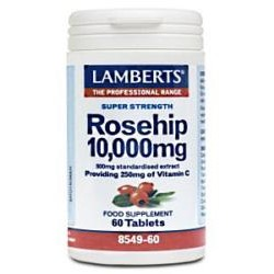 Rosehip 10,000mgProviding 250mg of Vitamin C60 Tablets