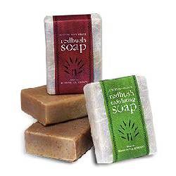 Red Bush soap (110g bar)