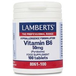 Vitamin B6 50mg100 tablets