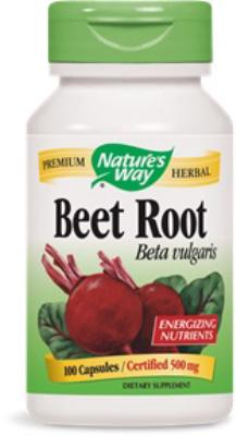 Beetroot<BR>500mg<BR>100 caps