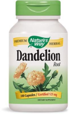 Dandelion Root<br>540mg<br>100 capsules