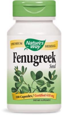 Fenugreek Seed<br>610mg<br>100 capsules