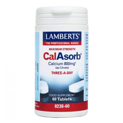 CalAbsorb® - Calcium 800mg 60tbs