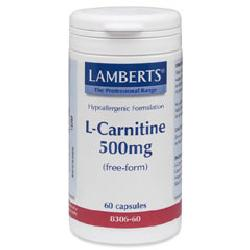 L-Carnitine 500mg<br>60 capsules<br>
