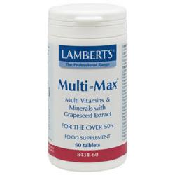 Multi-Max® Original For the over 50's<br>60 tablets<br>
