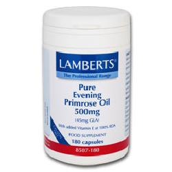 Evening Primrose Oil<br>500mg<br>180 capsules<br>