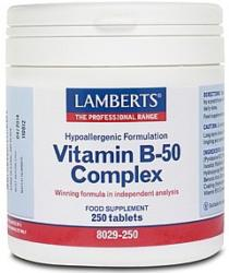 Vitamin B 50 Complex<br>A balanced formula of the B vitamins