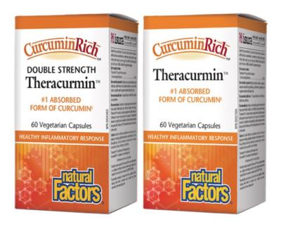 Theracurmin™ CurcuminRich™ 30mg or Double Strength 60mg