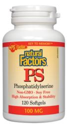 Phosphatidylserine Non-GMO Soy Free 100 mg<br>30 or 60 softgels