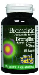 Bromelain Extra<br>Pineapple Source 500 mg<br> 180 Capsules