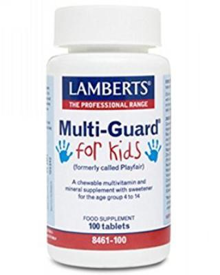 MutiGuard for Kids<br>(Formally Playfair™)<br>100 tablets