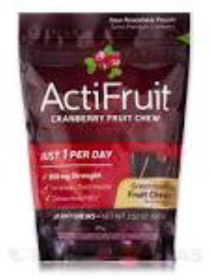 ActiFruit&trade;<BR>20 chewable tablets