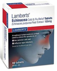 Echinacea Cold & Flu Relief Tablets 60 Tablets