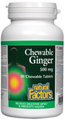 Chewable Ginger 20 mg