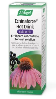 Echinaforce - Cold and Flu Hot Drink with Black Elderberry 100ml