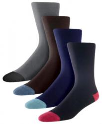 Bamboo Socks<br>Set of 4 Men's 'Freethinkers' Socks<br>Uk size 8-11